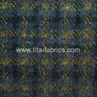 Yarn dyed fabric made of woo/lpolyester Manufactures