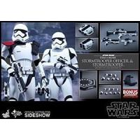 Hot Toys Star Wars The Force Awakens Stormtrooper Officer/Stormtrooper 2 Pack Manufactures