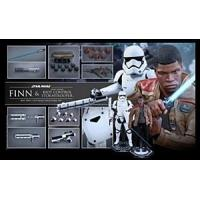 Hot Toys Star Wars the Force Awakens Finn with Stormtrooper 6th Scale AF Manufactures