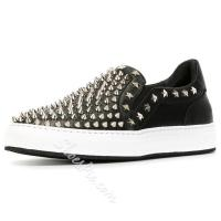 Shoespie Rivets and Stars Men's Sneakers Manufactures