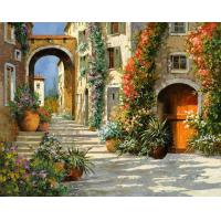 China Hand-painted Landscape Oil Painting on sale