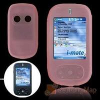 Pink Silicone Skin Mobile Phone Case for Dopod 830 / 818PRO Silicone Skins Manufactures