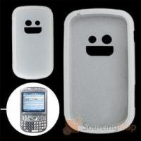 Clear White Silicone Case for Palm Treo 800W Silicone Skins Manufactures