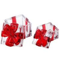 Christmas Glass Candy Jars Manufactures