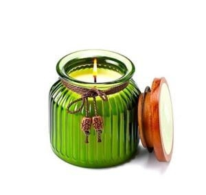 Quality Colored Glass Candle Jars for sale