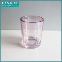 light color glass candle container Manufactures