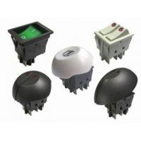 China SWITCH R-series 22x30 MOUNTING, DOUBLE POLE ROCKER SWITCHES UP TO 20A 125VAC, 128A INRUSH on sale