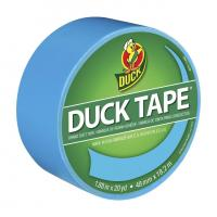 China Color Duck Tape Brand Duct Tape - Electric Blue, 1.88 in. x 20 yd. on sale
