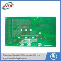 Buy cheap PCB Material Green soldermask FR-4 1 layer PCB single side PCB from wholesalers