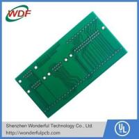Buy cheap fr4 double layer pcb with 2.4mm board thickness from wholesalers