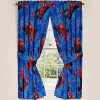 Marvel Ultimate Spiderman Spider-Man Panels Drapes Curtains, Set of 2, 42 x 63 each Manufactures