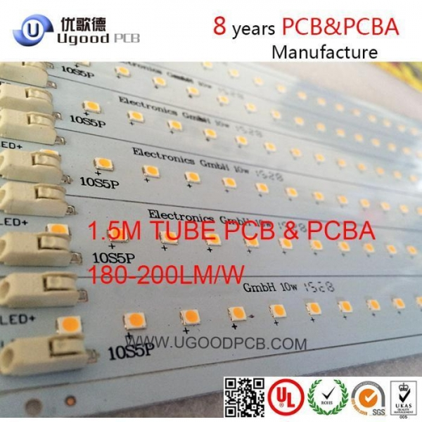 t8 light led pcb board shenzhen pcb board printed circuit board manufacturers of ugoodpcb