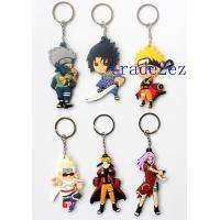 Buy cheap 2016629152931Anime Naruto Character Double sided PVC Keychains from wholesalers