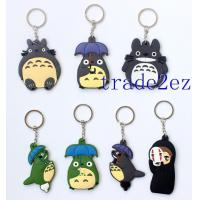 Buy cheap 2016629142652Classic Anime My Neighbor Totoro /No face man Double sided PVC Keychains from wholesalers
