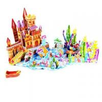 3D Crystal Puzzle The Daughter Of The Sea Model No.:580-F Manufactures