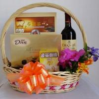 New Year gift basket NO.22 delivery gift to taiwan Manufactures