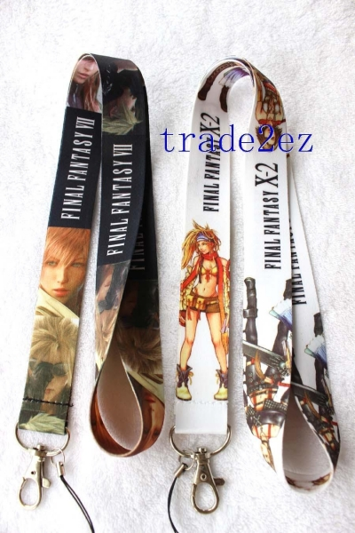 Quality 2016622114315Final Fantasy Anime Game Style Lanyard for sale