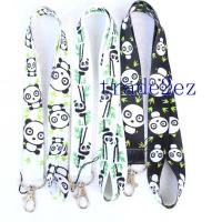 2016622111836Cartoon Panda Lanyard Black/White Manufactures