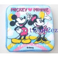 Buy cheap 201662216113Disney Mickey Minnie Blue Hand Towel Face Towels 20 X 20cm from wholesalers