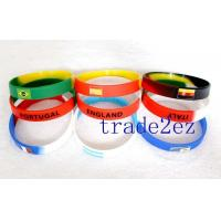 2016623103314Football team silicone wristbands Manufactures