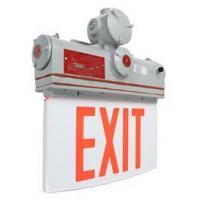 China Explosion Proof Exit Sign - Class I, Division I - IP65 - 120V/277VAC - Green or Red Exit Sign on sale
