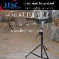 China 4M hight Tripod Crank stands truss goalpost on sale