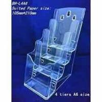 China Acrylic Magazine Stand wholesale