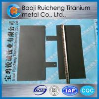 Ruthenium-Iridium coated titanium anode Manufactures