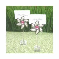 Flower Theme Garden Party Favors - Set of 12 Placecard Holders Manufactures