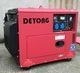Quality air cooled diesel silent generator 5.5kw for sale