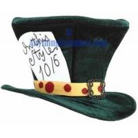 Adult Mad Hatter Green Hat Manufactures