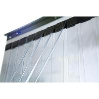 China 108 x 43 FlexCool Double Layer Cooler / Freezer Strip Curtain on sale