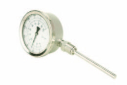 Quality WSS-411 radial direction traveling nut bimetallic thermometer for sale