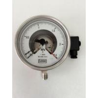 Buy cheap YXC-150H all steel vacuum electric contact pressure gauge from wholesalers