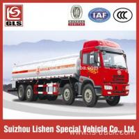 China 8*4 Capacity 30000L Fuel Trucks For Sale Oil Truck on sale