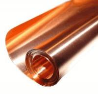 """Copper Sheets and Rolls 12"""" X 6' / 5 Mil (.005"""") Copper Sheet Manufactures"""