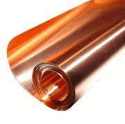 """Copper Sheets and Rolls 12"""" x 50'/ 5 Mil (.005"""") Copper Sheet Manufactures"""
