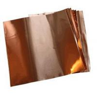 Copper Sheets and Rolls 6 X 6/1.4 Mil Copper Foil (.0014) (10 sheets)