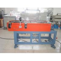 Plastic PP/PE/PVC Single Wall Corrugated Pipe Extruder Manufactures