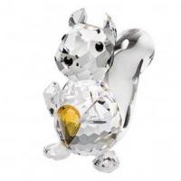 Buy cheap Preciosa Miniature Crystal Squirrel Figurine from wholesalers