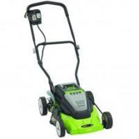 China Earthwise (14) 24-Volt Rechargeable Cordless Push Lawn Mower on sale