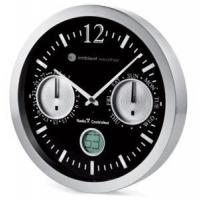 Ambient Weather 12112BS 12 Precision Radio Controlled Analog Wall Clock, Date and Day of Week Manufactures
