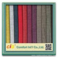 Buy cheap In time designs plain polyester sofa fabrics with T/C Back from wholesalers