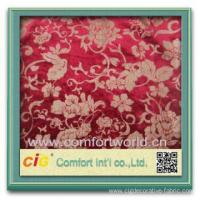 Fashion new design burn-out tricot ( velour) soft velvet fabric for sofa Manufactures