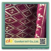 Jacquard Polyester Sofa Fabric chenille sofa cover Manufactures