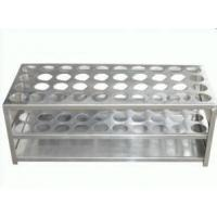 China stainless steel test tube rack for hospital or chemistry on sale