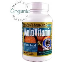 China PhytoVitamins Multivitamin (with Iron) 120 Veg Capsules (Made with Organic ) on sale