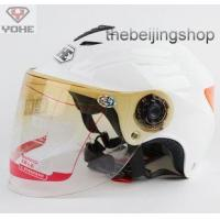 Scooter Motorcycle helmet w/ Lens, Reflective sticker