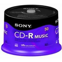 China Sony 50CRM80RS Audio CD-R, 50-Pack Spindle on sale