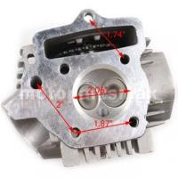 China 52.4mm Cylinder Head Assembly for 110cc ATVs, Dirt Bikes & Go Karts on sale